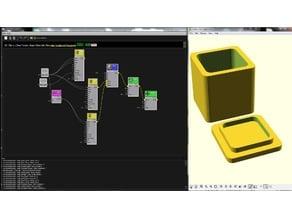 box node in Graphscad