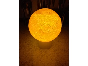 Stand for moon lamp