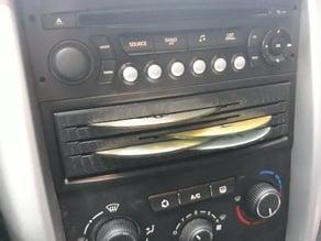 Peugeot 207 cd holder