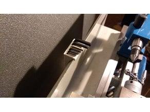 Allen wrench holder for minilathe