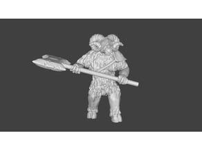 Foxmen: Minoaries / Minotaur Miniature