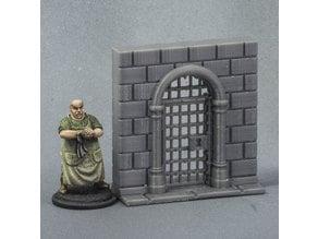Fitz's Slightly Fancy Cell Door
