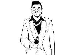 GTA Lance Vance stencil