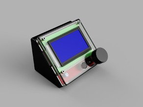 LCD Display Enclosure for Kossel Pro