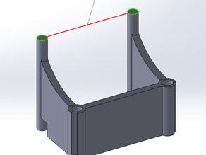 Filament guide / holder - Wanhao Duplicator 4s