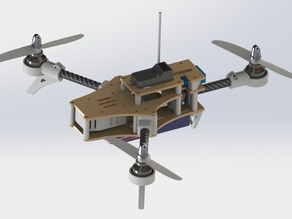 Foldable tricopter