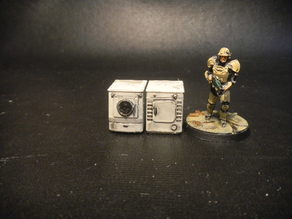 Fallout Washer and dryer