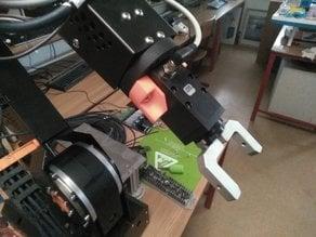 GEP1402 mount for igus robolink 5-axis robot
