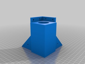 LACK enclosure table risers and top supports with wall mounts