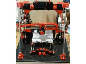 Ultimate Frame Brace, Anet a8 (no drilling needed)
