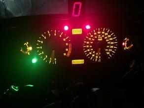 GIPRO / Gi Pro gear Indicator mounting bracket for Hayabusa and other sports Motorcycles / Motorbikes