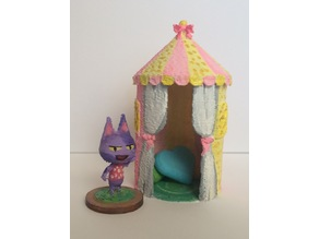 Animal Crossing Cute Tent