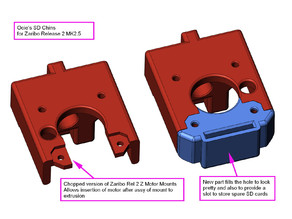Ocie's SD Chins - Z motor mounts for Zaribo & Haribo