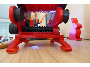 Filament Spool Holder - Bearings and custom LEGS and rollers
