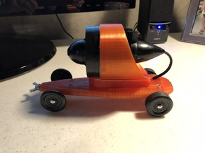 Ducted Fan Pinewood Derby Car
