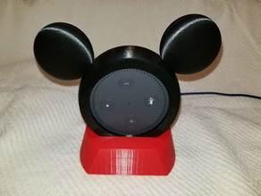 Echo Dot Mickey Holder