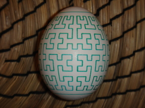 Hilbert Curve Egg