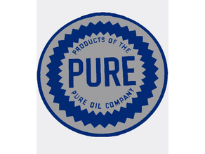 PURE Oil Co. Sign