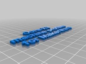 Core-XY machine profiles for MakerWare
