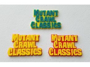 Mutant Crawl Classics (MCC) RPG Logo