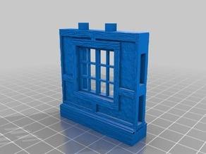 OpenLock 5.0 Tudor Wall Window -Full Pane
