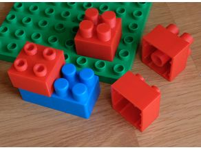 Abrick to Duplo adapter
