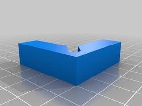 Pinza para la cama caliente y el cristal de soporte I3 prusa