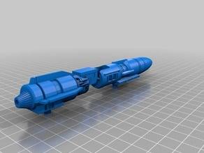 transformers G1 Double Dealer Gun.