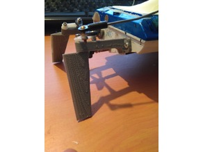 rc boat rudder - updated - L10-50mm, H40-60mm
