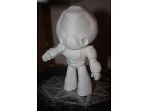 Doom (2016) Secret Doll with neck, shoulder and wrist joints