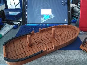 Boat Tiles Remix with OpenLock connectors