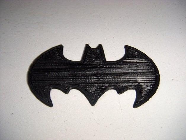 Batman Symbol Openscad By Seynls Thingiverse