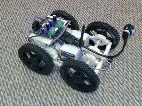 Large Wheels for Truckbot