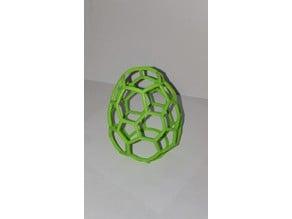 Football / Soccer Easter Egg Isokaeder