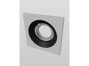 Nest Camera Reduced Glare Window Mount