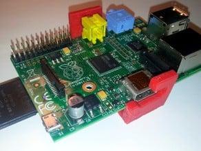 Simple clip in Raspberry Pi mount