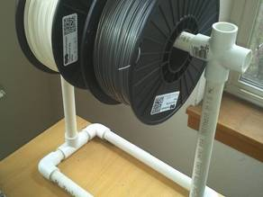 PVC Filament Spool Holder
