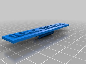 Simple stand for RMS TITANIC - scale 1/1000