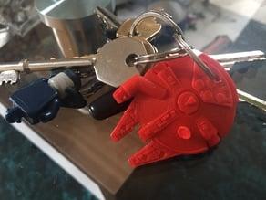 Millenium Falcon keyring RFID