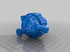 Grot Doomwheel tank (Warhammer 40K)