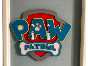 PAW Patrol 5 Color Light Switch