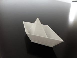 Little paper boat v01