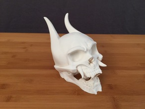 Oni Skull [hollowed]