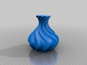 My Customized Vase and bowl openscad generator