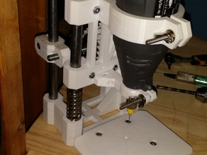 """Kalip"" Drill press (Dremel mount)"