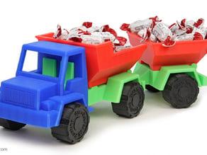 Toy Dump Truck Trailer