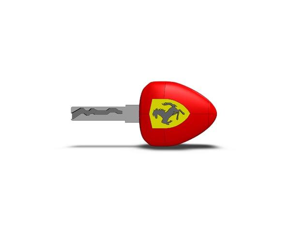 Ferrari Key By Ignatiusaleks Thingiverse