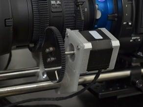 15mm Rail Mount For NEMA 17 Follow Focus Stepper Motor