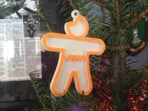 Ginger-Bite Ornament