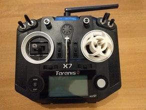 Gimbal protector for Taranis QX7 with M7 Hall Effect Gimbals - Biohazard